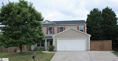 Simpsonville Single Family Home For Sale: 110 Granary