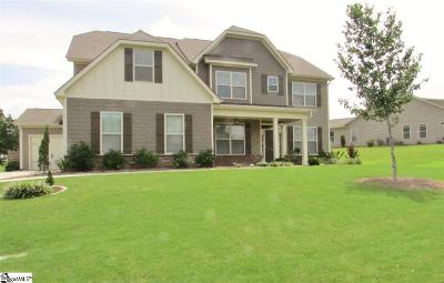 Simpsonville Single Family Home For Sale: 12 Portico