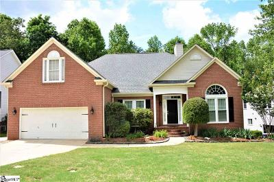 Greenville County Single Family Home Contingency Contract: 209 Birchleaf