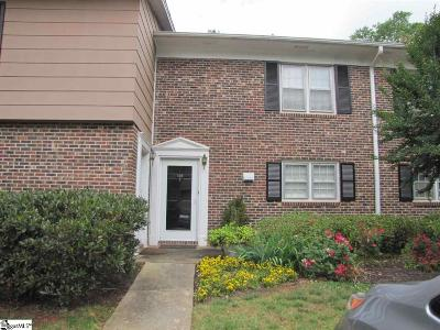 Spartanburg Condo/Townhouse For Sale: 106 Fernridge