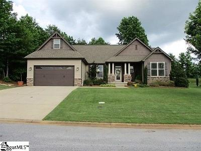 Travelers Rest Single Family Home Contingency Contract: 40 Crimson Glory