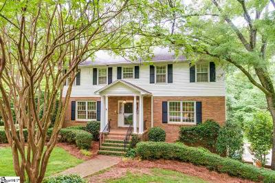 Greenville Single Family Home For Sale: 301 Redcliffe