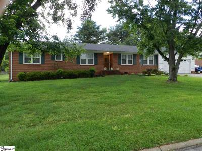 Mauldin Single Family Home For Sale: 116 Amberwood