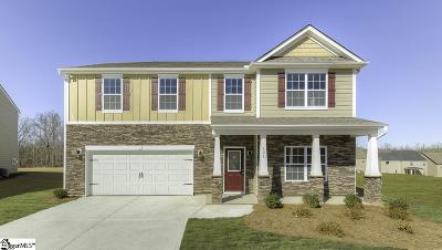 Simpsonville Single Family Home For Sale: 121 Lake Grove