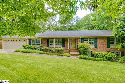 Greenville Single Family Home Contingency Contract: 112 Hillsborough