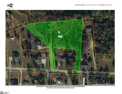 Taylors Residential Lots & Land For Sale: 10 Hannah Springs