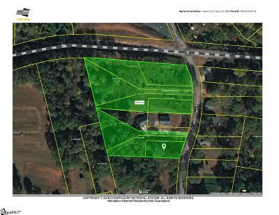 Taylors Residential Lots & Land For Sale: Aiken Chapel