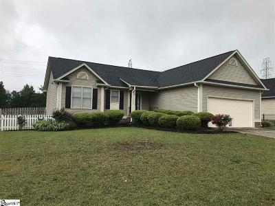 Fountain Inn Single Family Home Contingency Contract: 6 Frostberry