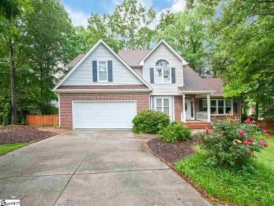 Greenville Single Family Home For Sale: 8 Spyglass