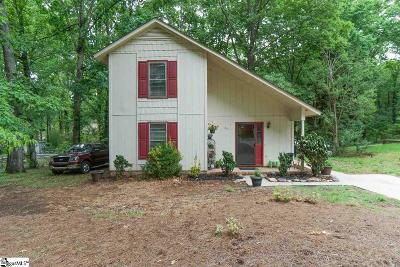 Simpsonville Single Family Home For Sale: 201 Corkwood