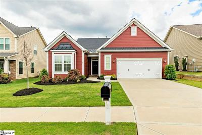 Simpsonville Single Family Home For Sale: 6 Cachet