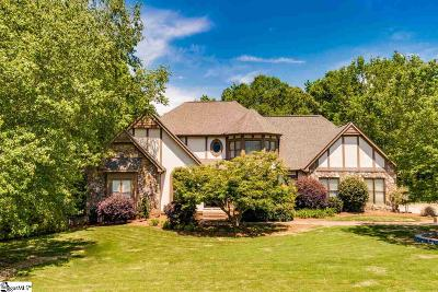 Greenville Single Family Home For Sale: 121 Hunters Run