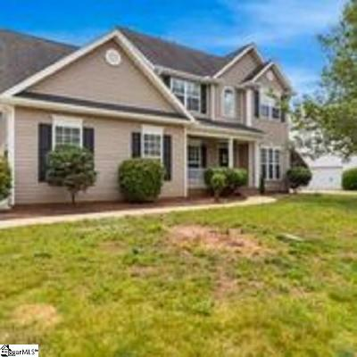 Simpsonville Single Family Home For Sale: 10 Paddock Run
