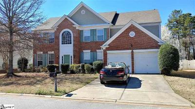 Greenville County Single Family Home Contingency Contract: 15 Blanton