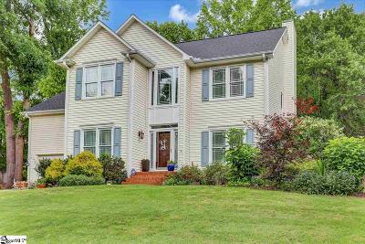 Simpsonville Single Family Home Contingency Contract: 12 Summer Glen