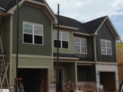 Simpsonville Condo/Townhouse For Sale: 119 Hartland #010