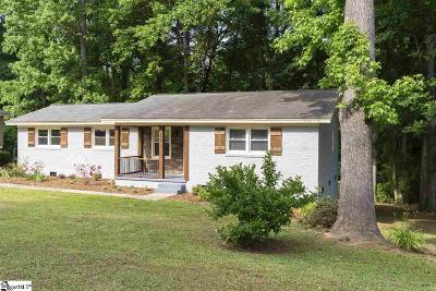 Simpsonville Single Family Home For Sale: 405 Seminole