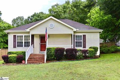 Fountain Inn Single Family Home Contingency Contract: 115 Fowler