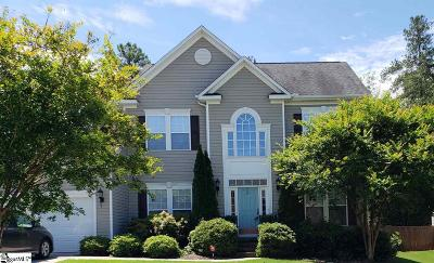 Travelers Rest Single Family Home For Sale: 109 Meadow Rose