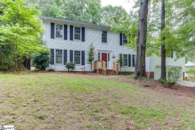 Spartanburg Single Family Home Contingency Contract: 110 Roswell