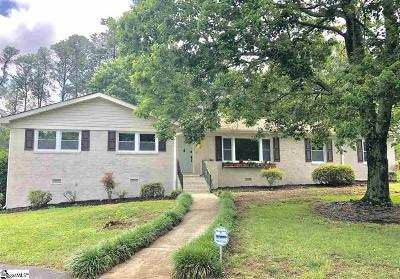 Greenville Single Family Home For Sale: 2 Selwyn