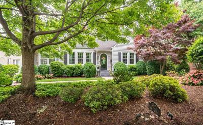 Greenville SC Single Family Home For Sale: $658,000