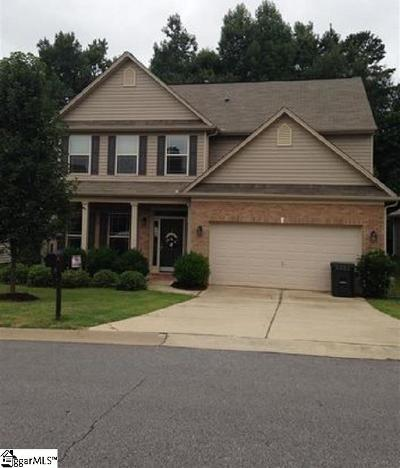Greer Single Family Home For Sale: 4 Parkwalk