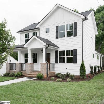 Greenville Single Family Home For Sale: 107 Paris View