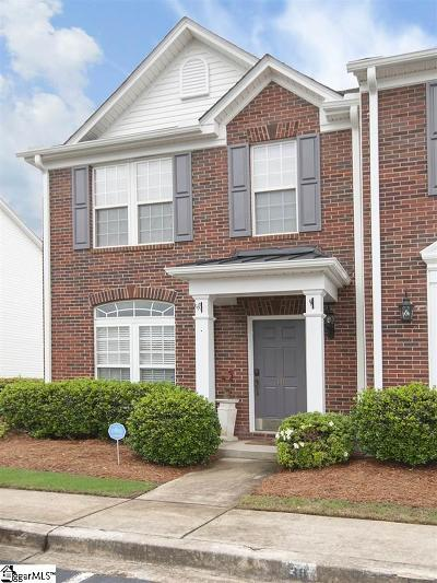 Greer Condo/Townhouse For Sale: 40 Spring Crossing