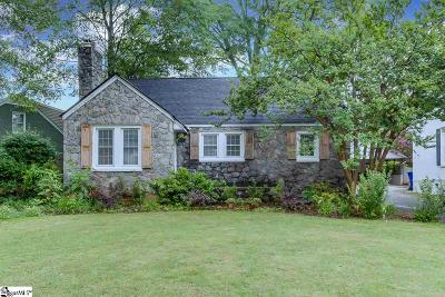 Greenville Single Family Home Contingency Contract: 119 Lanneau