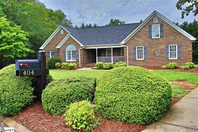 Taylors Single Family Home Contingency Contract: 404 Pearle Brook