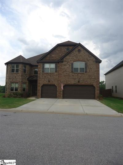 Greer Single Family Home For Sale: 412 Sunnybrook