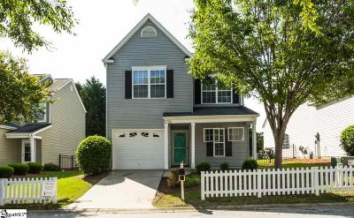 Easley Single Family Home For Sale: 106 Pin Oak