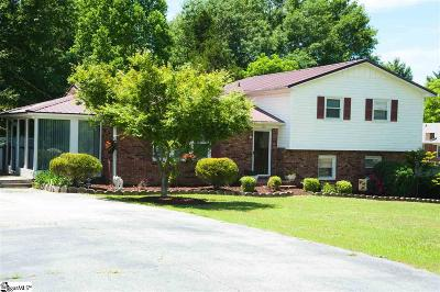 Easley Single Family Home For Sale: 102 Rockmont