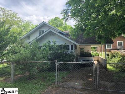 Greenville Single Family Home Contingency Contract: 213 McGarity