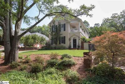 Greenville Single Family Home For Sale: 329 Pine Forest Drive