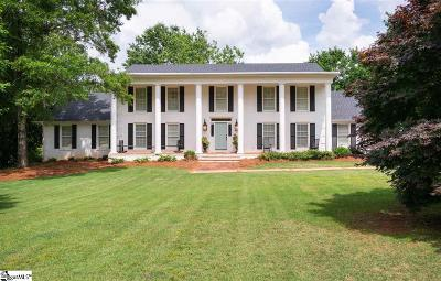 Greenville Single Family Home Contingency Contract: 106 W Round Hill