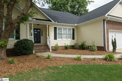 Simpsonville Single Family Home For Sale: 101 Wild Rice
