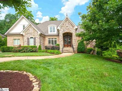 Simpsonville Single Family Home For Sale: 2 Gatwick
