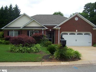 Greer Single Family Home For Sale: 5 Foxfield