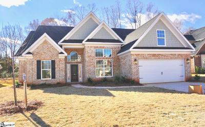 Boiling Springs Single Family Home For Sale: 780 Ashmont #Homesite