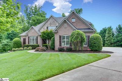 Greer Single Family Home For Sale: 225 Glen Abbey