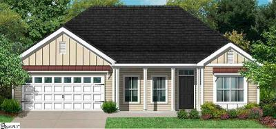 Taylors SC Single Family Home For Sale: $308,187