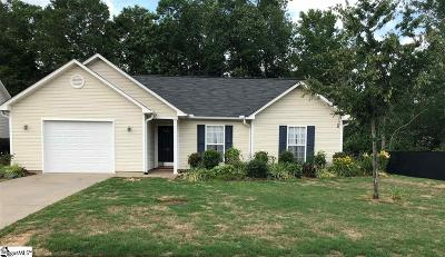 Easley Single Family Home For Sale: 128 Fledgling