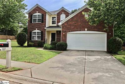 Mauldin Single Family Home For Sale: 101 Woodvine
