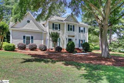 Simpsonville Single Family Home For Sale: 117 Gilderview