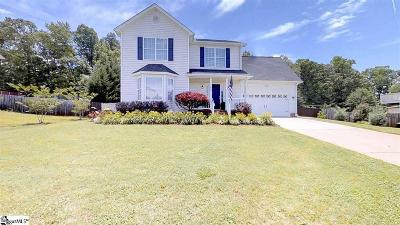 Greer Single Family Home For Sale: 105 Faulkner