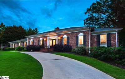 Greenville SC Single Family Home For Sale: $659,000