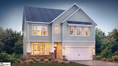 Simpsonville SC Single Family Home For Sale: $253,164