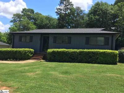 Travelers Rest Single Family Home For Sale: 107 Cox